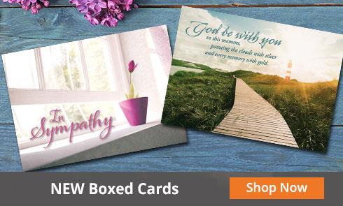 Memorial Boxed Cards