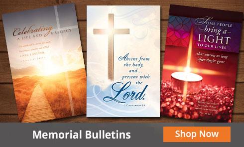 Funeral Bulletins