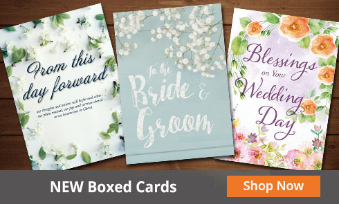 Wedding Boxed Cards
