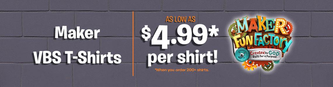 custom vbs t-shirts